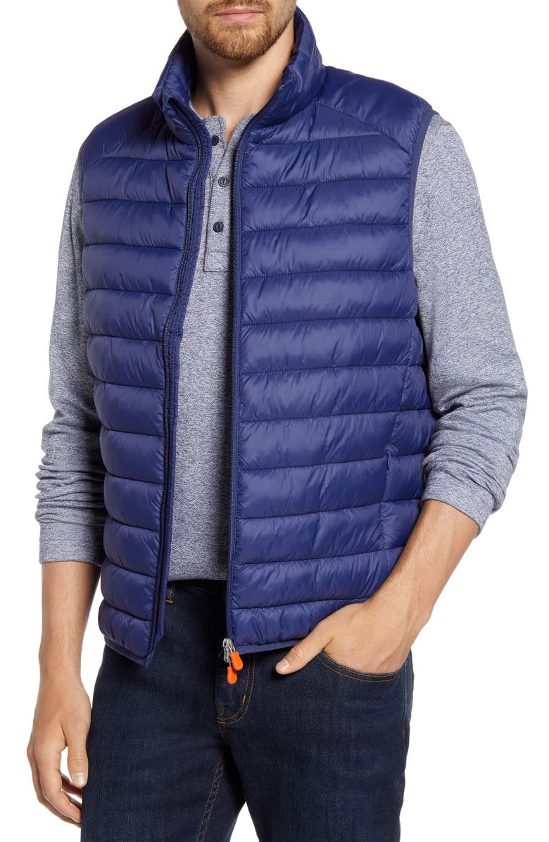 SAVE THE DUCK Puffer Vest, Main, color, EVENING BLUE