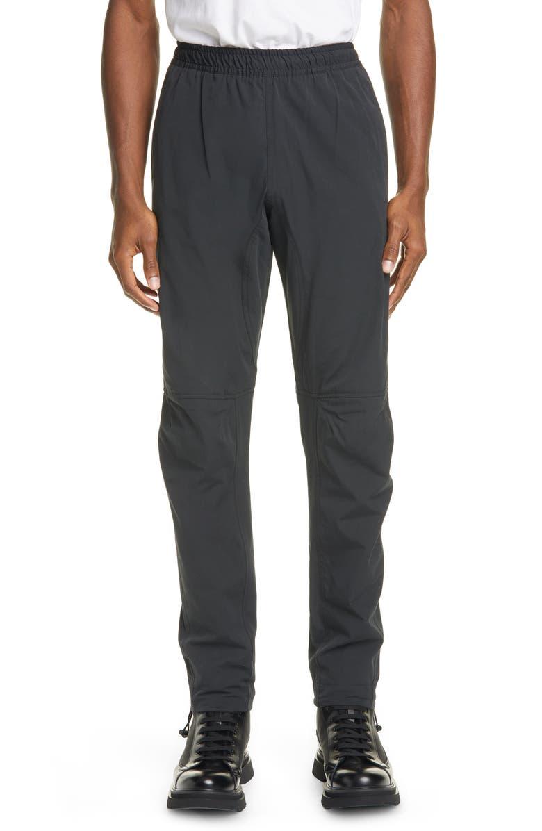 BOTTEGA VENETA Elastic Waist Pants, Main, color, BLACK