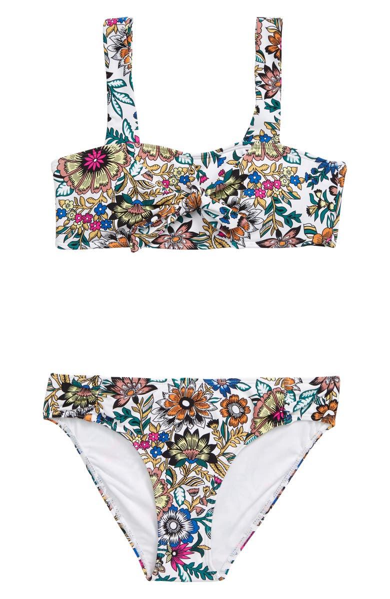 O'NEILL Priscilla Knot Two-Piece Swimsuit, Main, color, MULTI