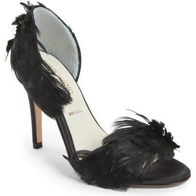 Something Bleu Hammond Dorsay Sandal, Black