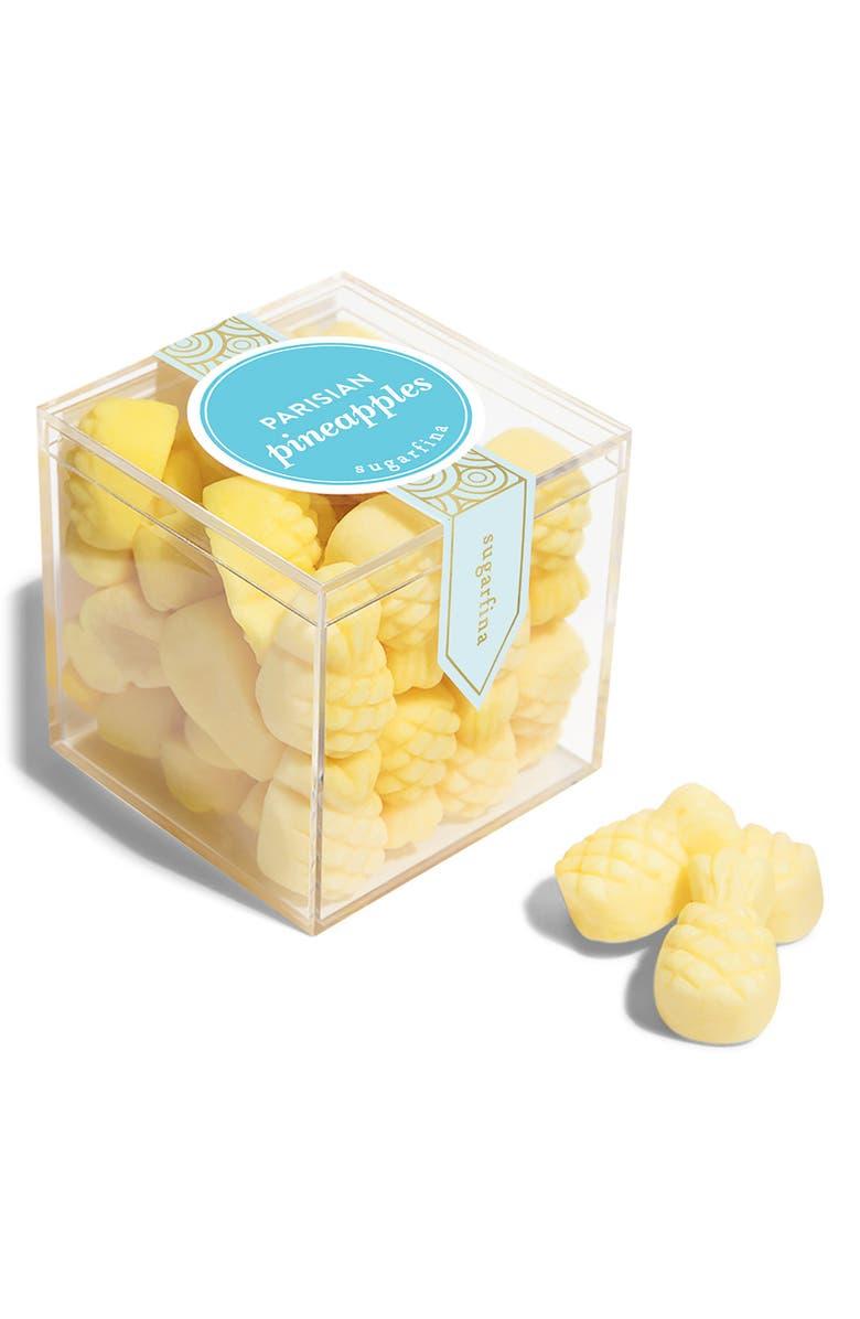 SUGARFINA Parisian Pineapples Small Candy Cube, Main, color, 700