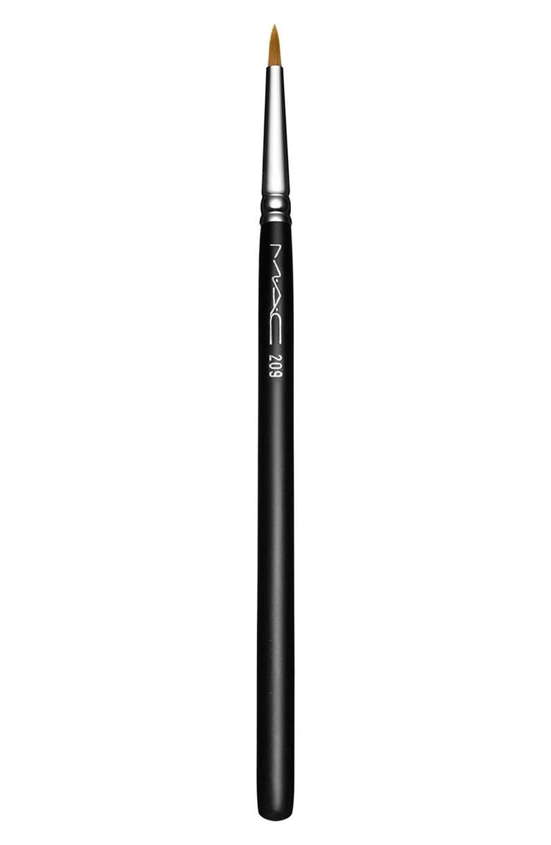 MAC COSMETICS MAC 209 Eyeliner Brush, Main, color, NO COLOR