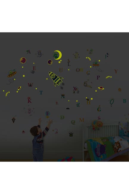 Walplus Galaxy Numbering Alphabets Wall Sticker Nordstrom Rack