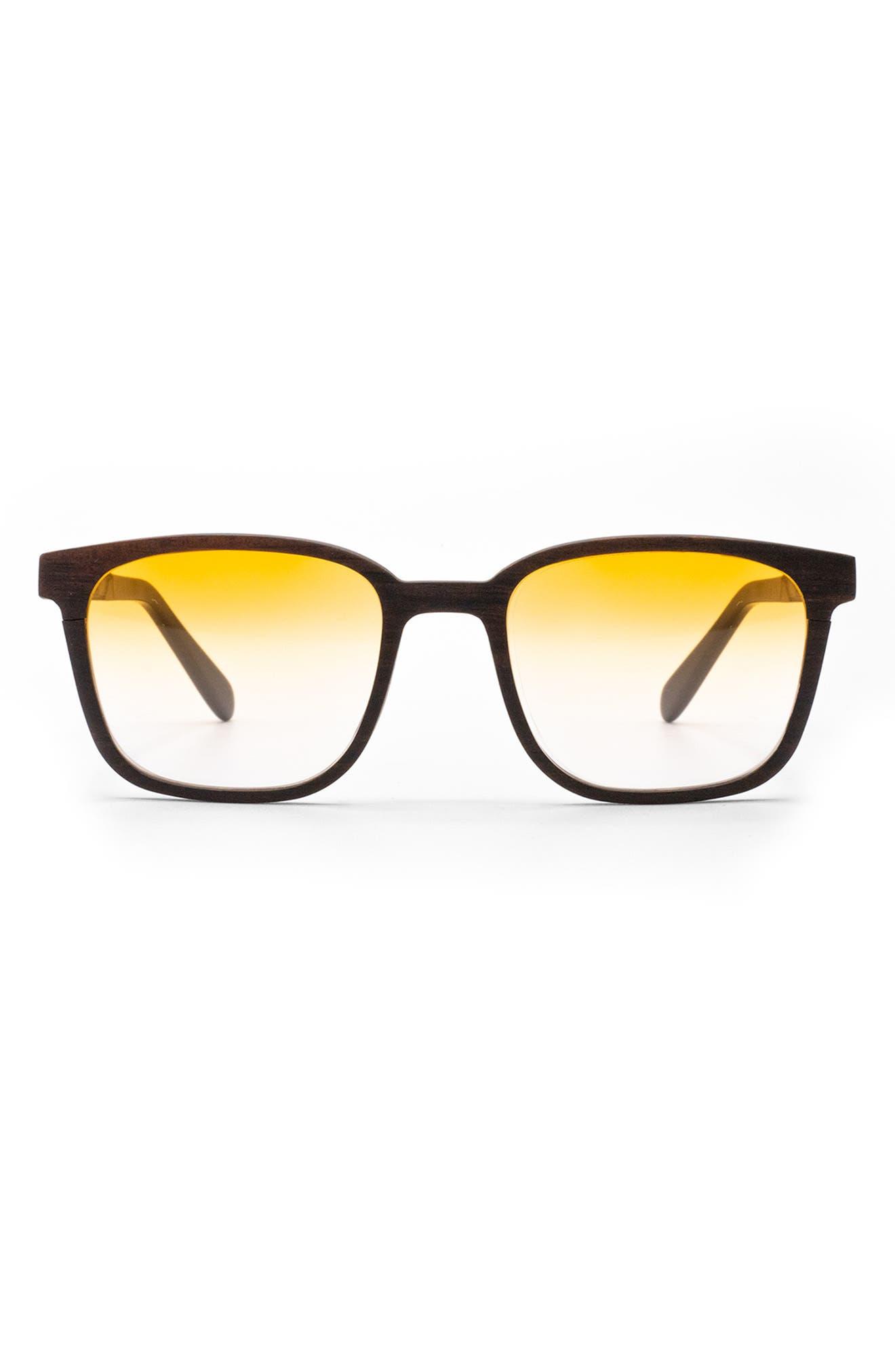 Jetter 50mm Gradient Square Sunglasses