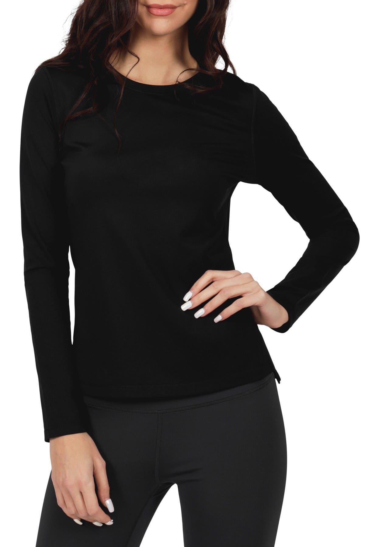 Image of 90 Degree By Reflex Ultralink Fleece Long Sleeve Top