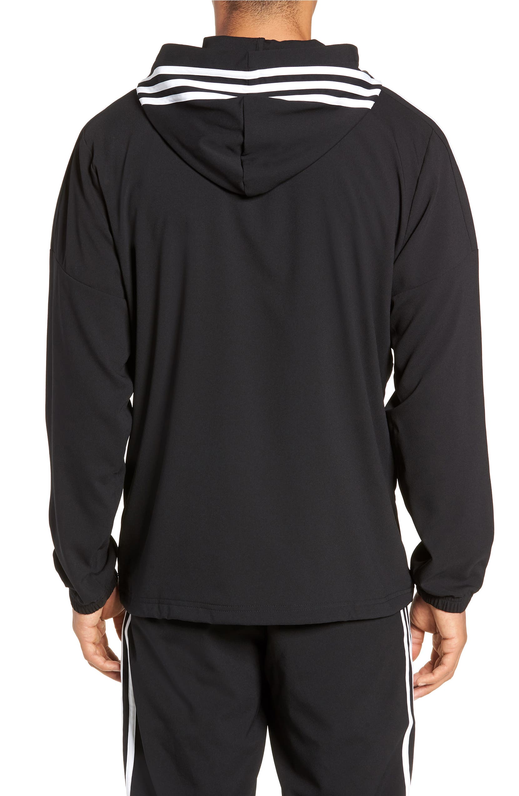 hot sale coupon code cheapest price adidas Sport ID Hooded Half Zip Anorak | Nordstrom