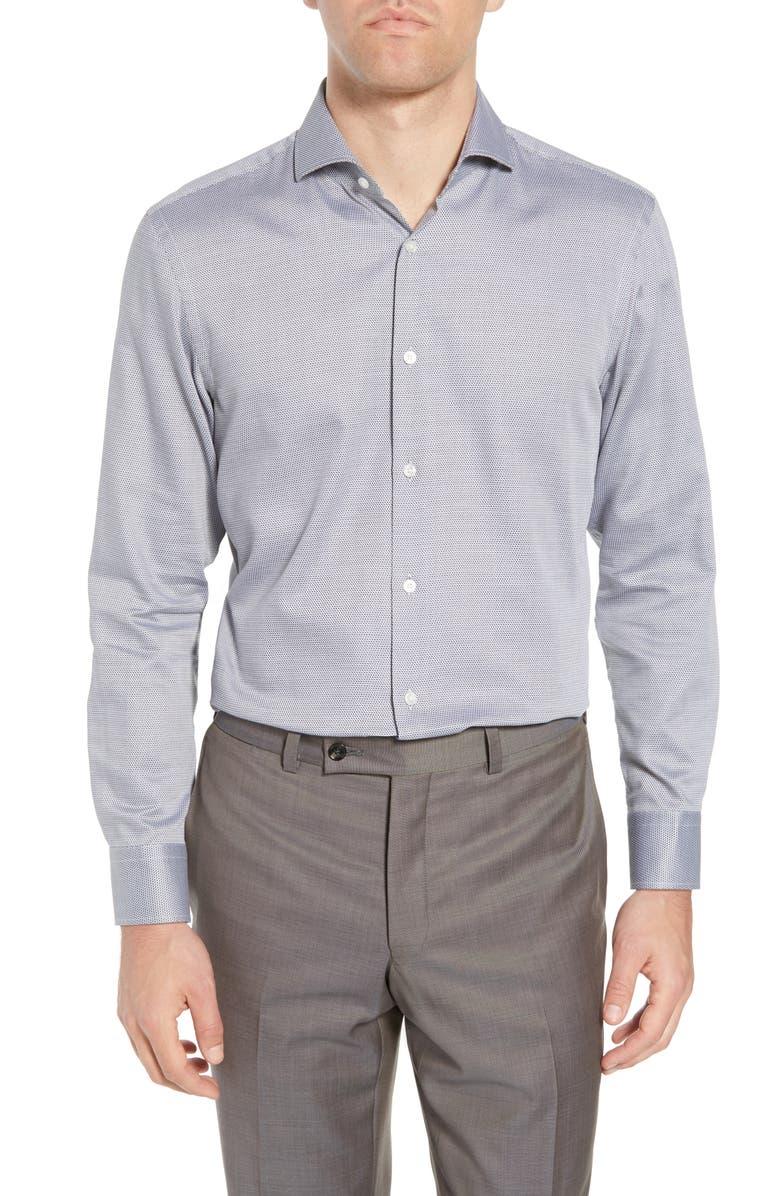 BOSS Mark Sharp Fit Dress Shirt, Main, color, 030