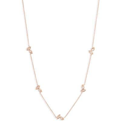 Dana Rebecca Designs Lori Paige Diamond Station Necklace