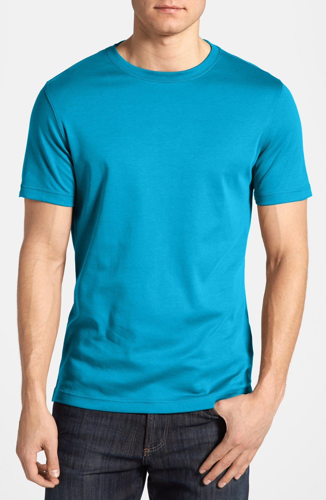 ,                             Georgia Crewneck T-Shirt,                             Main thumbnail 247, color,                             412