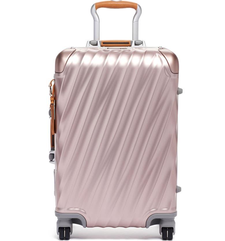 TUMI 19 Degree 22-Inch Wheeled Carry-On Bag, Main, color, BLUSH