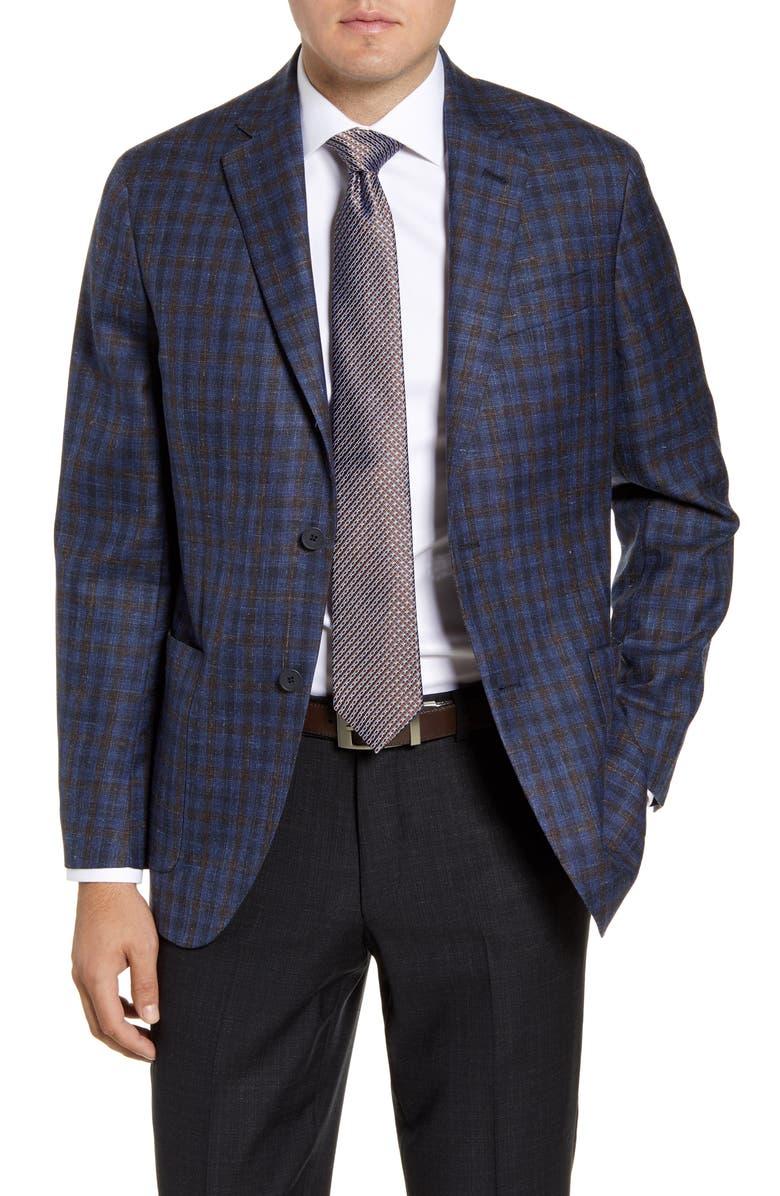 NORDSTROM MEN'S SHOP Trim Fit Wool Blend Sport Coat, Main, color, 410
