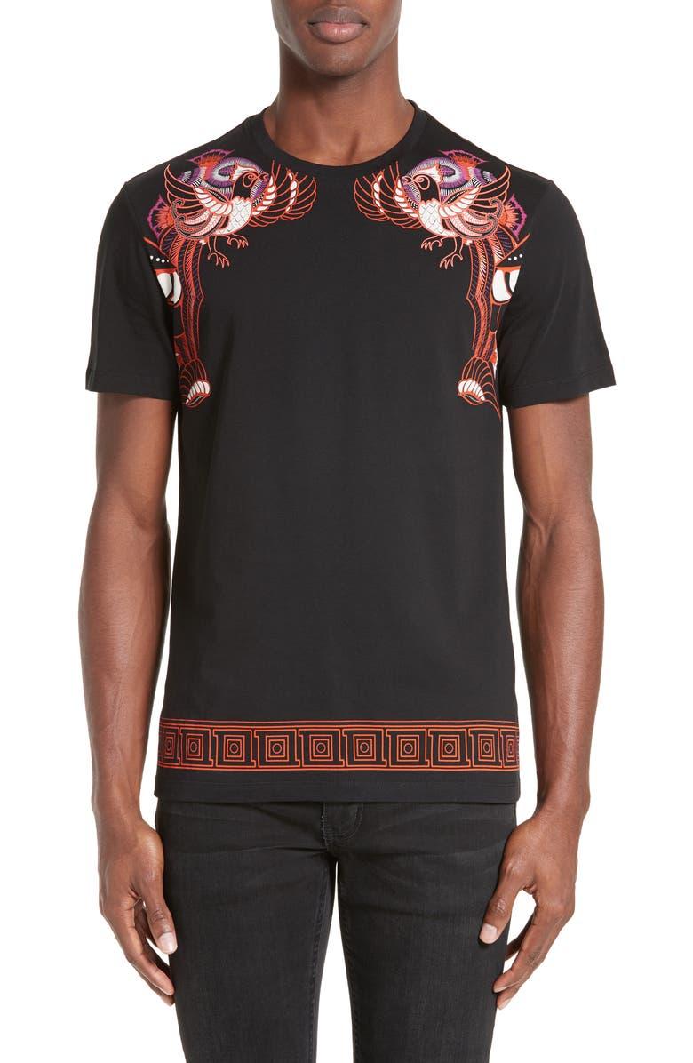 brand new 7da48 b83fe Versace Collection Bird Print T-Shirt | Nordstrom