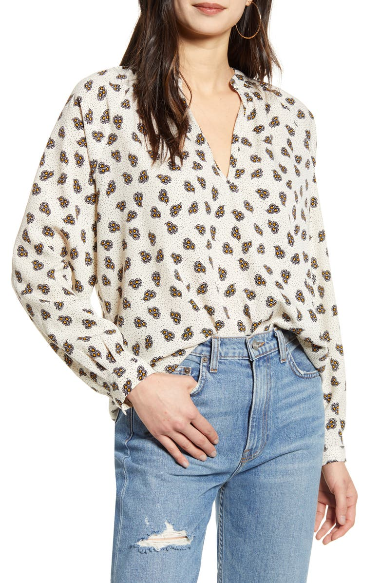 BISHOP + YOUNG Gypset Blouse, Main, color, GYPSET PRINT