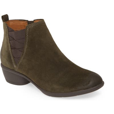 Comfortiva Questa Ankle Boot, Green