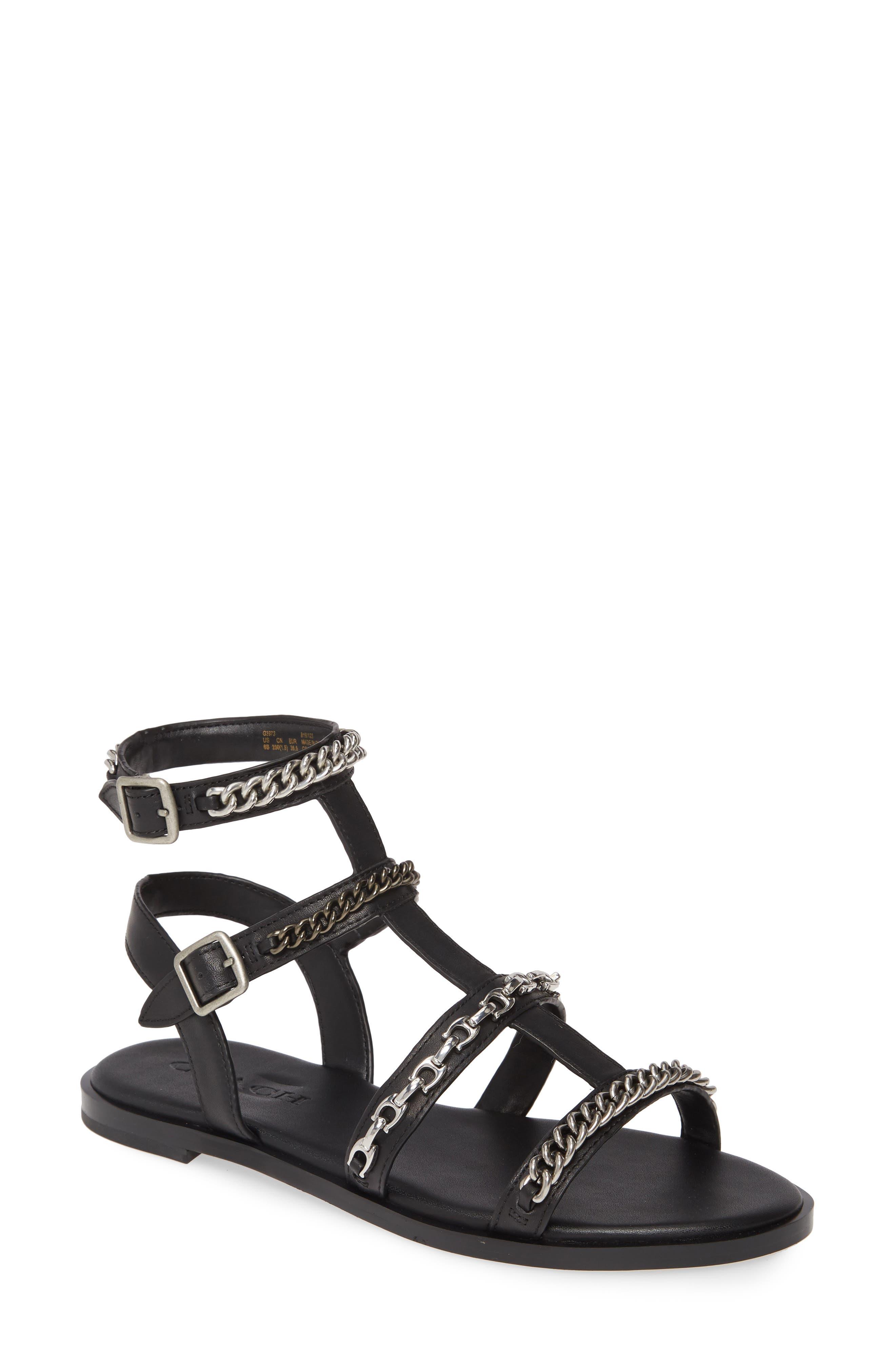 COACH Haddie Gladiator Sandal (Women)