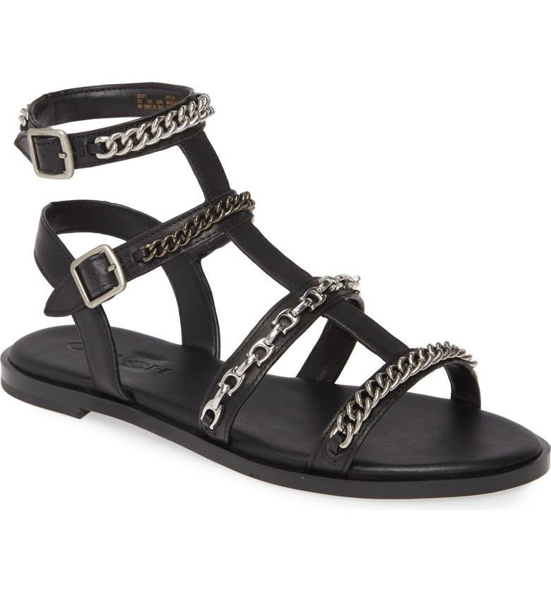 Haddie Gladiator Sandal by Coach
