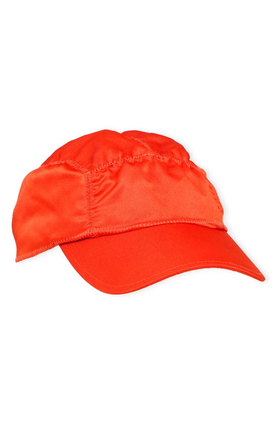 Ganni Caps SATIN BASEBALL CAP