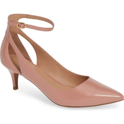 Linea Paolo Carrie Ankle Strap Pump, Pink