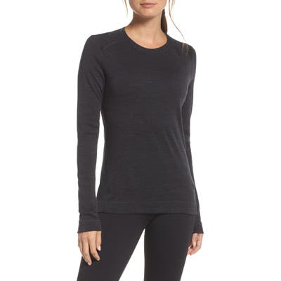 Smartwool Merino 250 Base Layer Crew Top, Grey