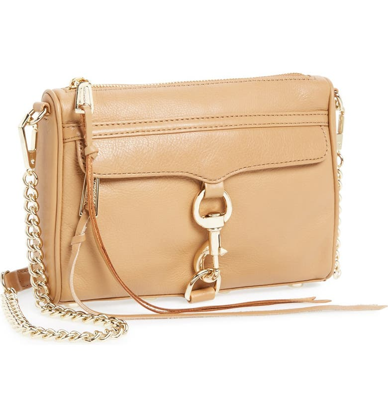 REBECCA MINKOFF 'Mini MAC' Convertible Crossbody Bag, Main, color, 210