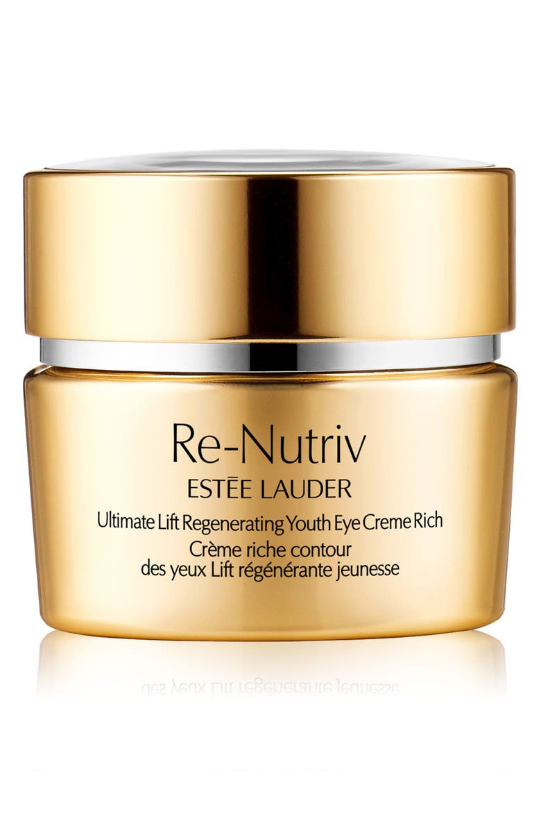 ESTÉE LAUDER Re-Nutriv Ultimate Lift Regenerating Youth Eye Creme Rich, Main, color, NO COLOR