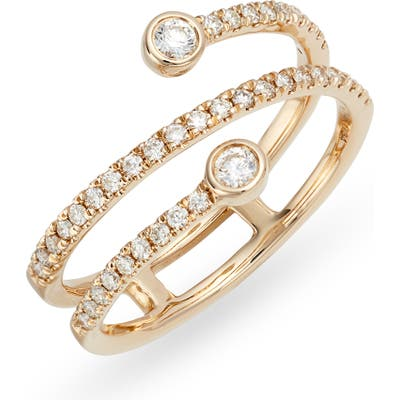 Dana Rebecca Designs Lulu Jack Wraparound Diamond Ring