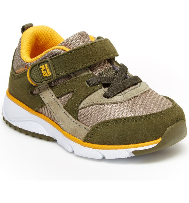 STRIDE RITE Made 2 Play<sup>®</sup> Ace Sneaker, Main, color, OLIVE