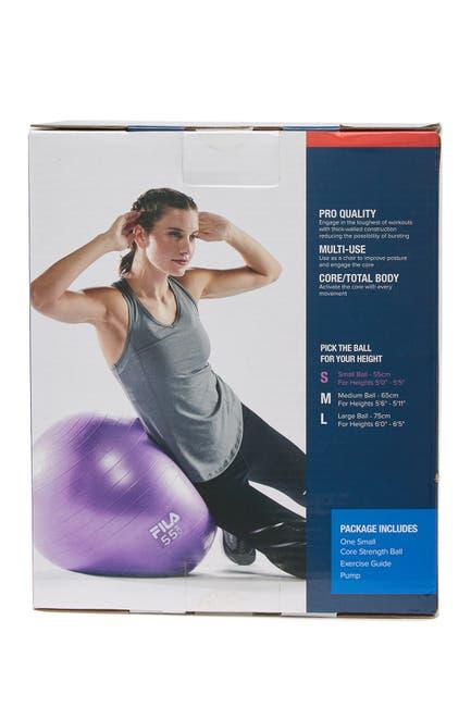 Image of FILA USA Core Strength Stability Ball w/ Pump - 55cm