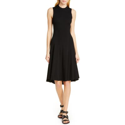 Polo Ralph Lauren Ribbed Knit Dress, Black