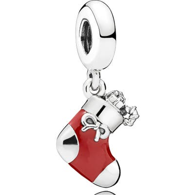 Pandora Christmas Stocking Dangle Charm