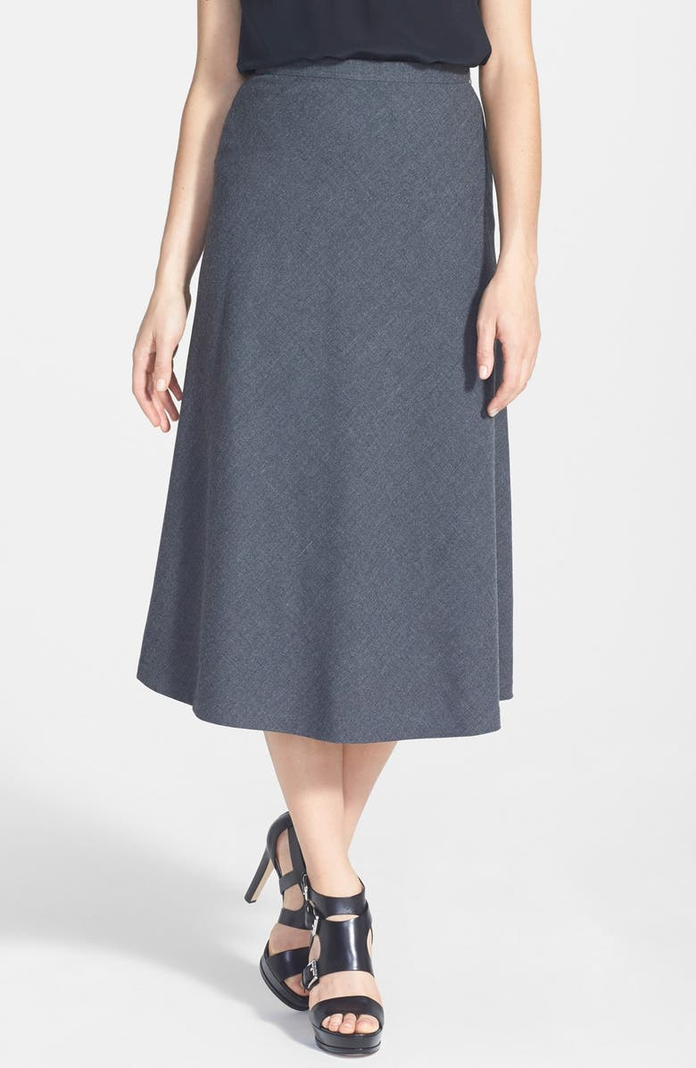 MICHAEL MICHAEL KORS Mid Calf Circle Skirt, Main, color, 036