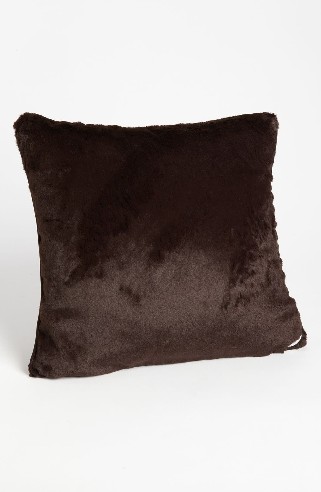 Pile up the plush with an ultrasoft faux-fur pillow made from cuddle-ready microfiber. Style Name: Giraffe At Home \\\'Luxe\\\' Throw Pillow (Online Only). Style Number: 662581. Available in stores.