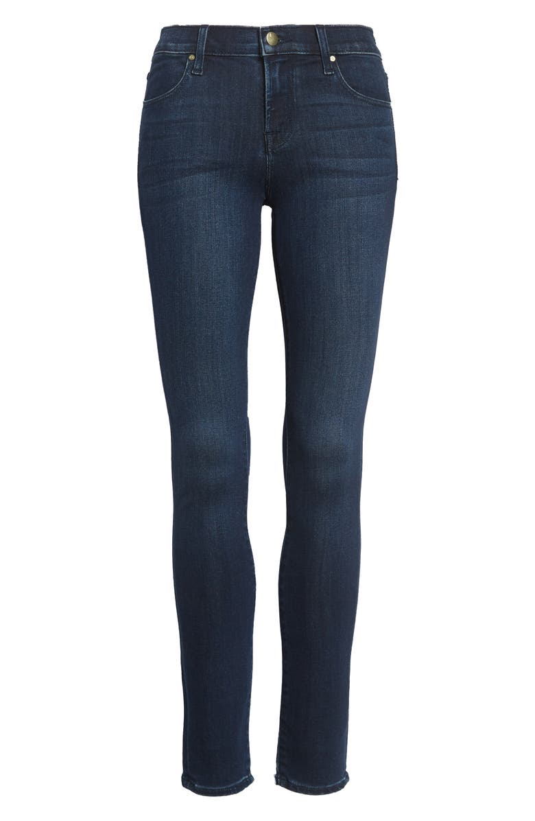 J BRAND '620' Mid Rise Super Skinny Jeans, Main, color, 401