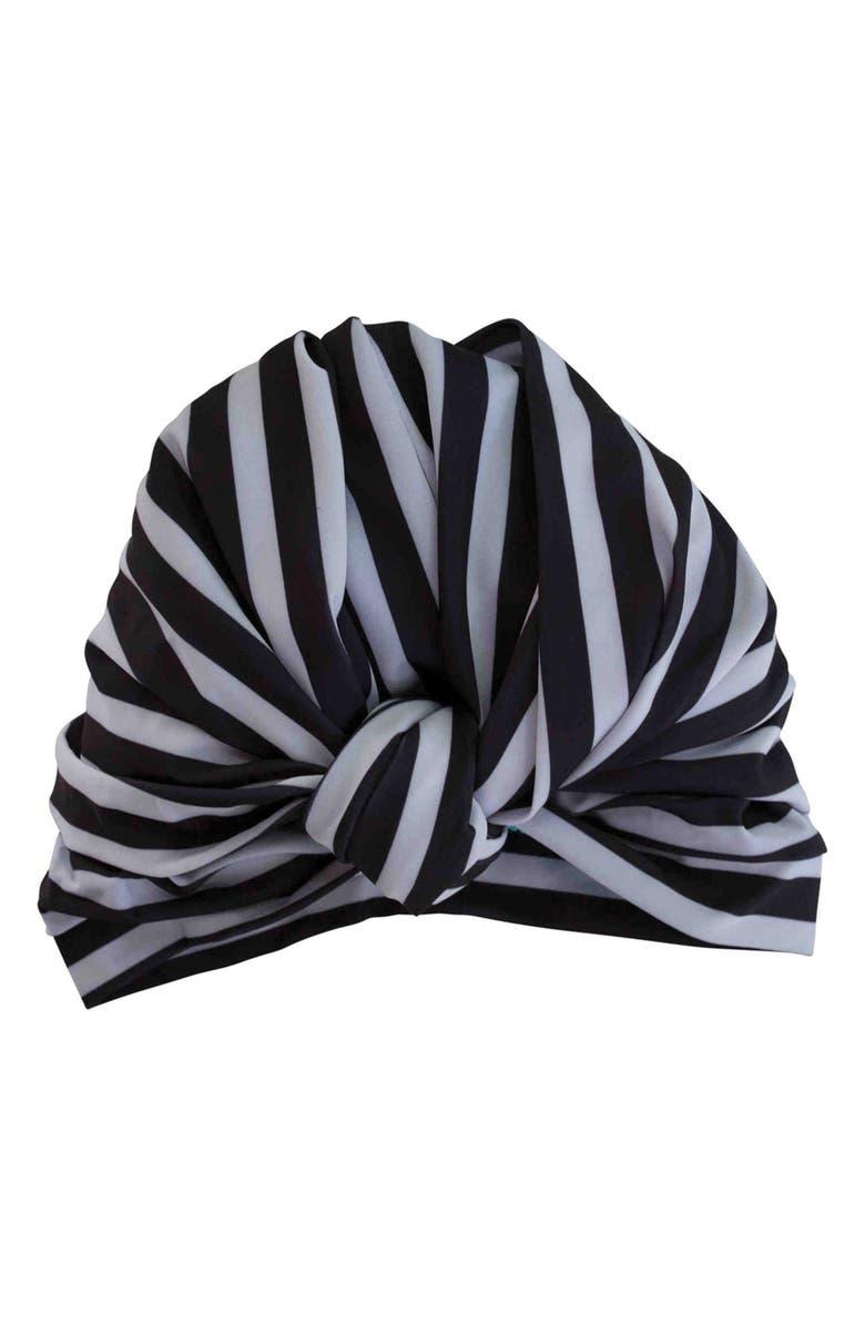 LOUVELLE Dahlia Shower Cap, Main, color, 001