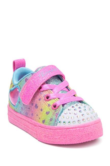 Image of Skechers Twinkle Toes: Shuffle Lite Lil Heartbursts Sneaker