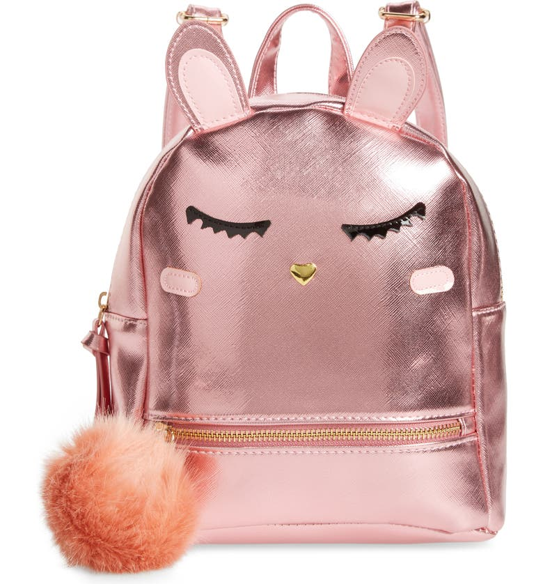 UNDER ONE SKY Bunny Mini Backpack, Main, color, 650