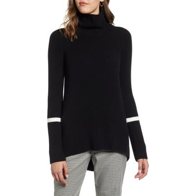 Halogen High Low Oversize Wool Blend Sweater