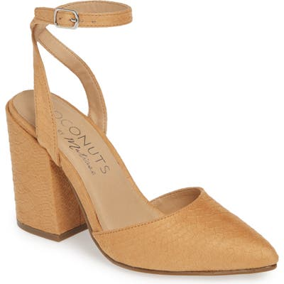 Coconuts By Matisse Ritual Ankle Strap Pump, Brown