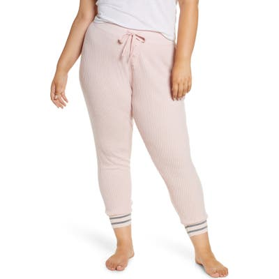 Plus Size Pj Salvage Jammie Pajama Pants, Pink