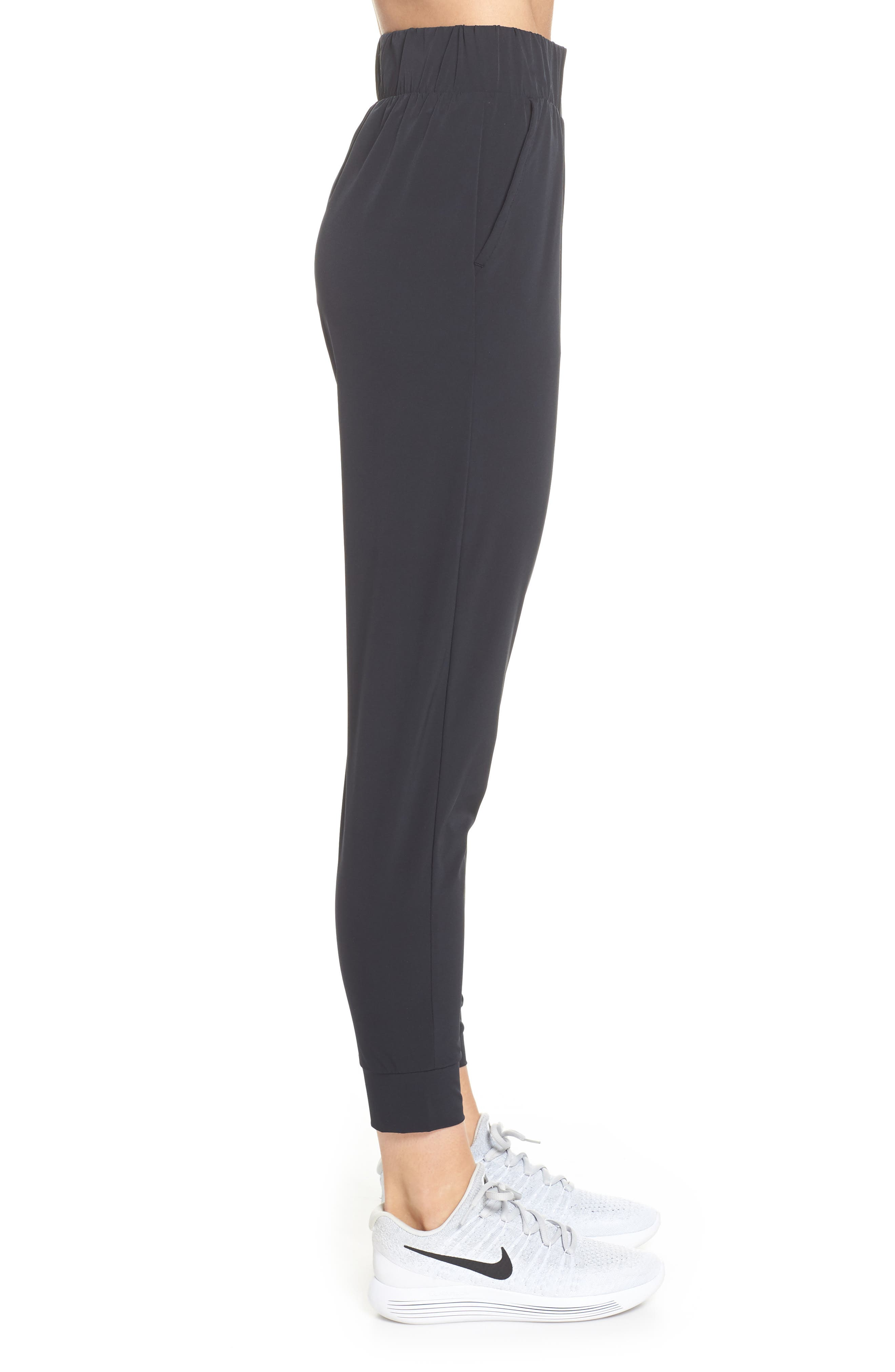 ,                             Dry Bliss Pants,                             Alternate thumbnail 4, color,                             BLACK/ CLEAR
