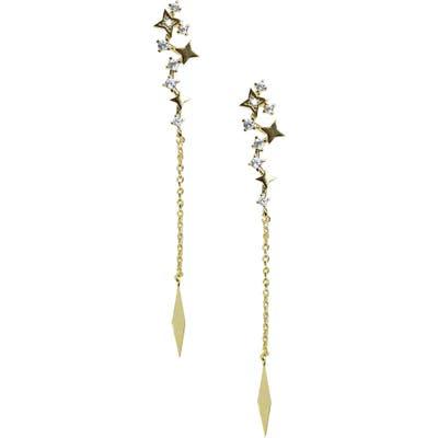 Jules Smith Dancing Star Linear Earrings