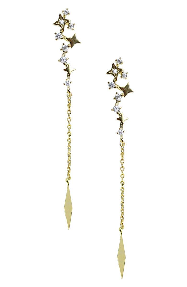 JULES SMITH Dancing Star Linear Earrings, Main, color, 710