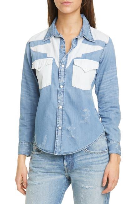 Image of NSF CLOTHING Teagan Western Shirt