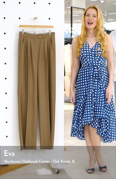Aerovia Camel Hair & Silk Pants, sales video thumbnail