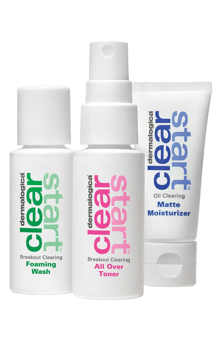 DERMALOGICA<SUP>®</SUP> 'Clear Start<sup>™</sup>' 3-Step Skin Clearing Set, Main, color, 000