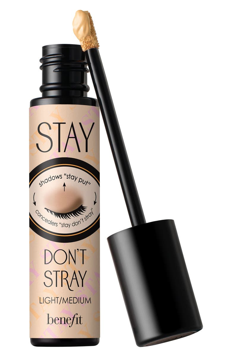 BENEFIT COSMETICS Benefit Stay Don't Stray Eyeshadow Primer, Main, color, LIGHT MEDIUM