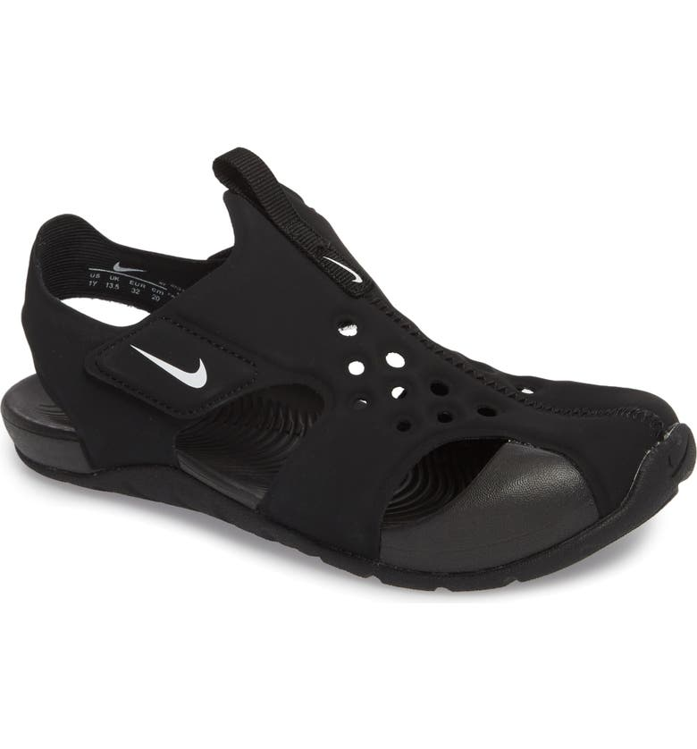 NIKE Sunray Protect 2 Sandal, Main, color, 001