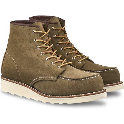 Red Wing 6-Inch Moc Boot, Green