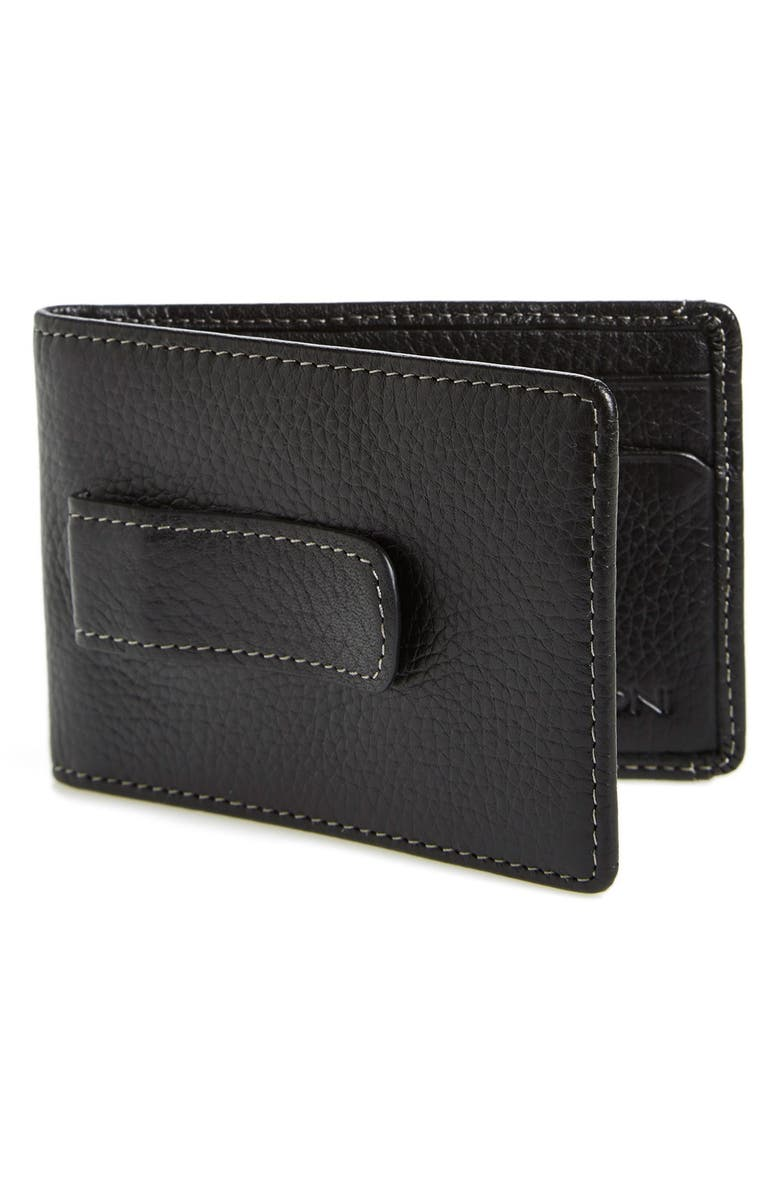 BOCONI 'Tyler' Money Clip Wallet, Main, color, 001