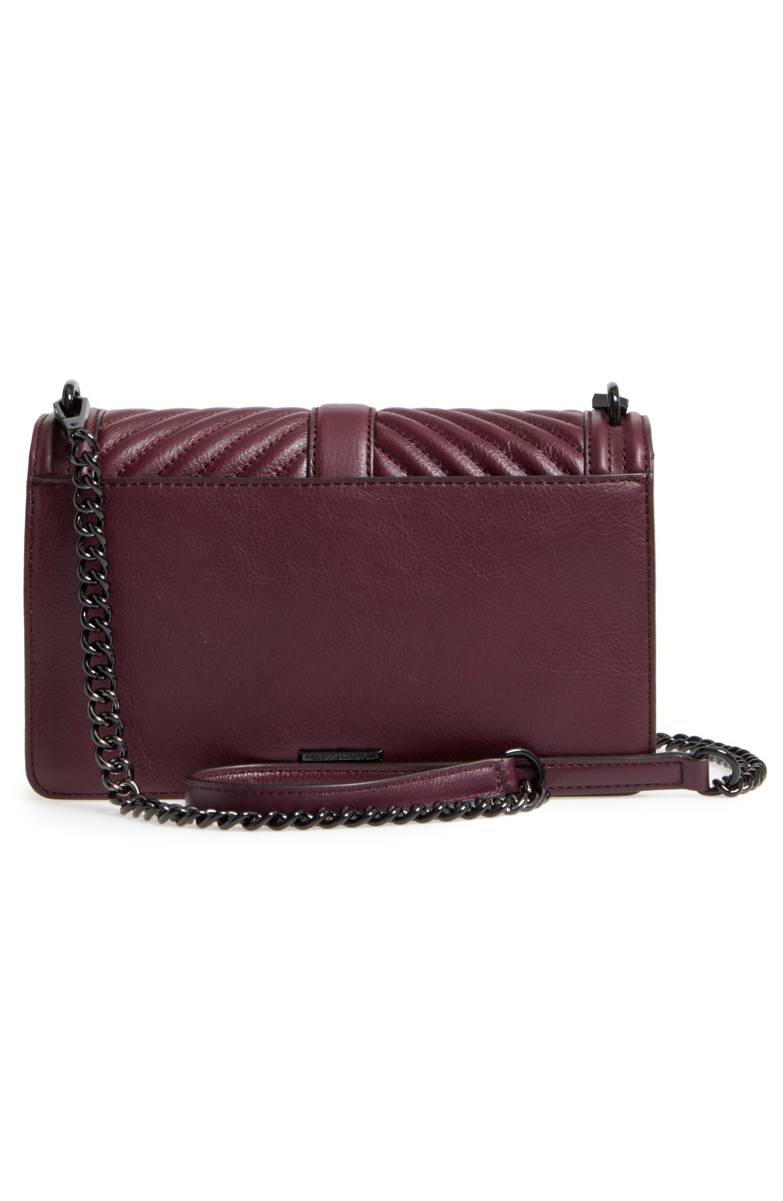,                             Love Leather Crossbody Bag,                             Alternate thumbnail 18, color,                             610
